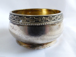 VTG SOVIET ERA RUSSIAN STERLING SILVER 875 OPEN SALT CELLAR BOWL - $106.92