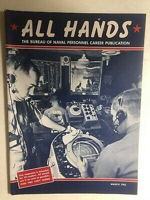 Primary image for ALL HANDS U.S. Navy Magazine March 1965 (Vietnam War era)