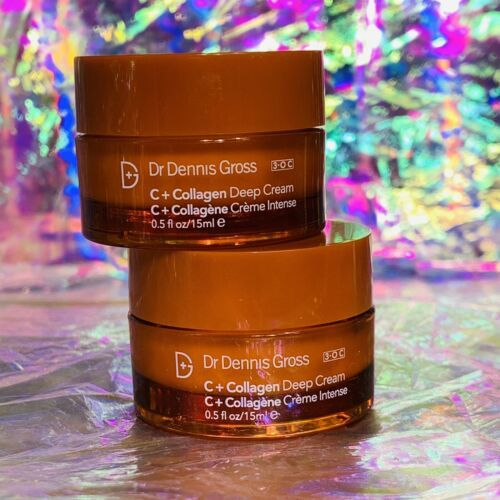 2x NWOB Dr. Dennis Gross C+ Colllagen Deep Cream 15mL