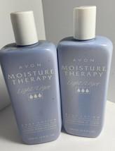 Avon Moisture Therapy Light Body Lotion Original 13.5 Oz 2 Bottles New Old Stock - $36.47