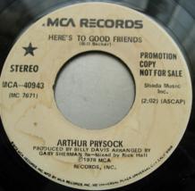 Arthur Prysock - Here's To Good Friends - MCA 40943 PROMO - $3.00