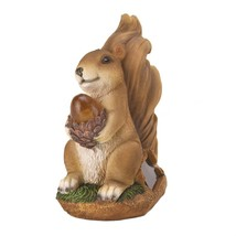 Solar Powered Figurines, Garden Statues And Yard Art, Small Solar Statue... - $21.99