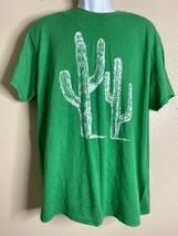 Delta Pro Weight Men Size L Green Cactus T Shirt Short Sleeve Cacti - €10,08 EUR