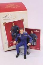 Hallmark Ornament Star Trek Enterprise NX-01 CAPTAIN JONATHAN ARCHER 2003 - $11.00