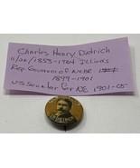 Rare Charles Henry Dietrich Pinback Celluloid Governor Senator Nebraska ... - $47.45