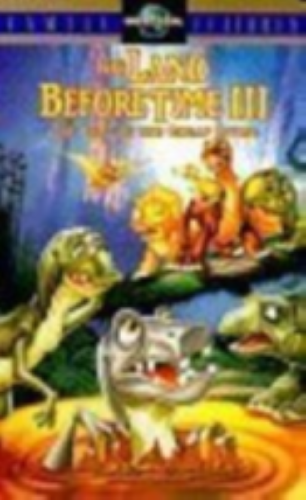 The Land Before Time III - The Time of the Great Giving Vhs