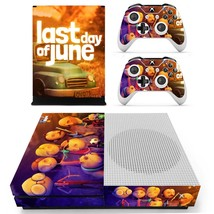Last Day of June decal for xbox one S console and 2 controllers - $15.00