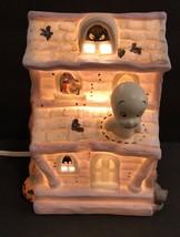 Vintage Halloween CASPER THE FRIENDLY GHOST light Porcelain House Night ... - €43,14 EUR