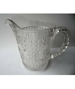 Imperial Glass Amelia Pattern Small Milk Pitcher c 1918 - $9.90