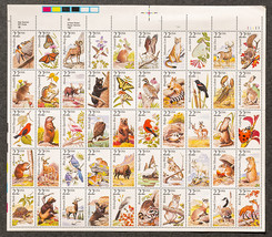US Postage of Animals 1987, Sheet of 22 cent st... - $15.00