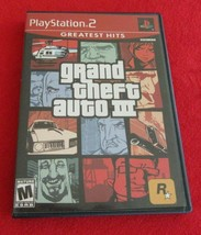 Grand Theft Auto III Greatest Hits (Sony PlayStation 2, 2003) - $6.92
