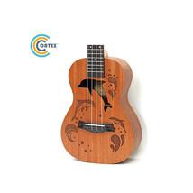Coatex Ukulele 21 or 23 inch  Sapele ukulele  Guitar cartoon ukuleles Do... - $51.99+