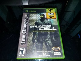Tom Clancy's Splinter Cell : Stealth Action Redefined (Microsoft XBox) - $14.85