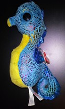 Blue shimmery Beanie Boo Neptune Seahorse birthday May 18, 2014 - with tags - $10.00