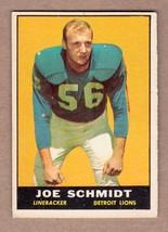 1961 Topps #36 Joe Schmidt Detroit Lions EX+ cond. no creases - $5.49