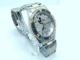 Lorus The Mickey Mouse 27mm Watch, Two-Tone, New Battery, Running, V501-X048 - $36.00