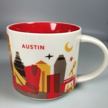 starbucks mug austin texas coffee cup 2016 unused - $39.59