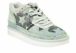 UGG Women's Highland Sequin Sneaker, Polar Grey with Stars, Brand New in Box - $74.63 CAD