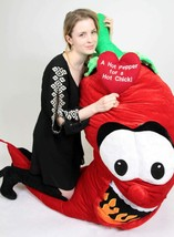 6 ft Giant Stuffed Red Hot Pepper for a Hot Chick - $167.11