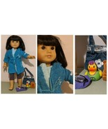 American Girl Ivy Ling Doll in Blue Robe retired includes Glasses, acces... - $126.42