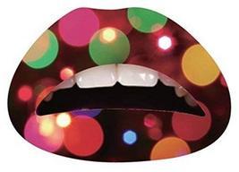 5 Piece Decorative Fashion Art Temporary Lips Tattoo, Muliticolor