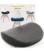Japanese Seat Cushion – Advanced Comfort Memory Foam, Washable, Non (Grey) - $35.72