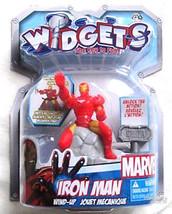 Widgets Marvel Iron Man Partiel Montre Lui Tirs Jouet Figurine avec Clé ... - $6.77
