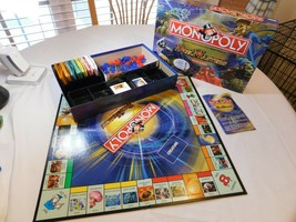 Monopoly Duel Masters Special Edition board game tokens Parker Brothers trading - $26.72
