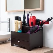 Bathroom Organizer Dryer Storage Holder Hair Chest Styling Heat White To... - $61.61