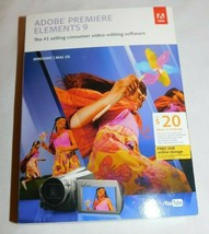 Adobe Premiere Elements 9 Windows/Mac - $55.00
