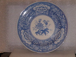 """SPODE BLUE ROOM COLLECTION """"FLORAL"""" DINNER PLATE - $20.00"""