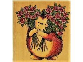 "Penny Black-Wood Mounted Rubber Stamp-""Sweet Hedgehog""-482D"