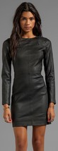 New Women Sexy  Genuine Lambskin Leather Evening Cocktail Ladies Party D... - $151.05