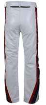 Evel Knievel Daredevil White Biker Leather Costume Jacket Pants image 6