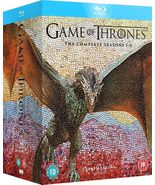 Game of Thrones The Complete Seasons Box Set 1-6 Blu-Ray Brand New 2016 - $119.50