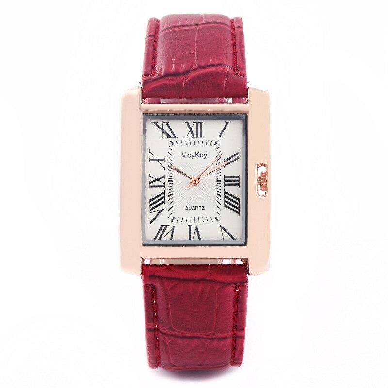 2018 Vintage Unique Rectangle Watch Womens Fashion Luxury Watches Ladies Wristwa image 2