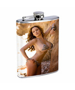 Hot Cowgirls D2 Flask 8oz Stainless Steel Hip Drinking Whiskey - $13.81