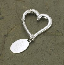 JDS Marketing and Sales BL637 Heart Keychain with Oval Tag - $23.33