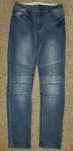 ART CLASS Detailed Stitching Straight Leg Denim Jeans Girls Size 10 - $5.63