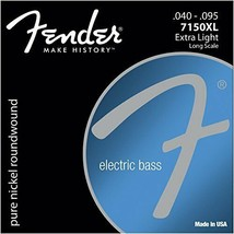 *Fender Electric Bass Strings PURE NKL RW LS 7150XL 40-90 - $49.41