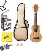 Oscar Schmidt OU18 Soprano ukulele w/ Stand, Hemp Gig Bag, Tuner & More - $159.95
