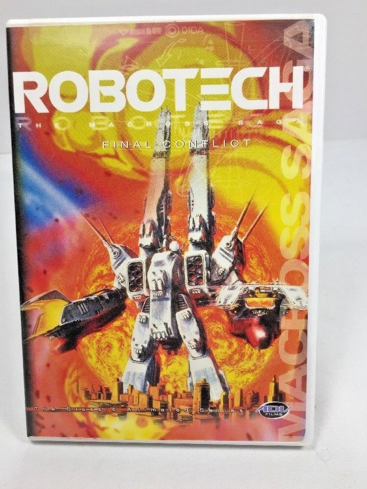 Primary image for Vol. 6 Robotech: The Macross Saga - Final Conflict 6 (DVD,2002) Episodes 31-36