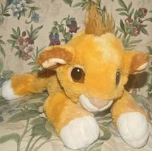 "1993 Mattel Disney Peluche Simba Floscio in Posa Re Leone Cucciolo 13 "" - $41.66"