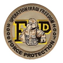 US Army Force Protection Operation Iraqi Freedom Military Patch - $10.68