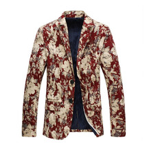 "2017 spring new style Men""s casual fashion high quality blazer jackets M... - $81.30"