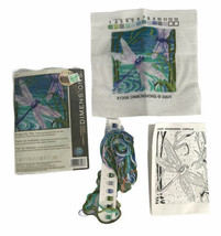 "Dimensions Cross Stitch Kit Needlepoint ""Dragonfly Pair"" 5"" x 5"" 7208 St... - $9.75"