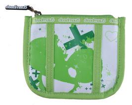Deadmau5 Deadmouse Deadmaus Green & White Zippered Pouch Coin Wallet NEW image 2