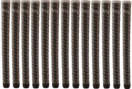 13 Winn Dri-Tac Wrap Oversize Dark Grey Golf Grips 7DTWR DG Plus Grip Kit - $85.95