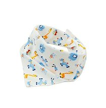 4Pcs Baby Neckerchief/Saliva Towel For Baby,Pure Cotton Adjustable - $20.95