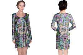 Eye Doodle Women's Long Sleeve Night Dress - $23.80+